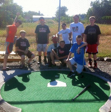 The Sweet Putt: Visiting Little League team during the State 12s LL tourney