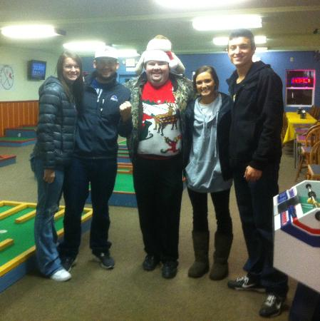 The Sweet Putt: WWCC ASB in for one of the college nights