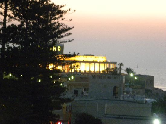 Dragonara Casino: The Casino view from our balcony