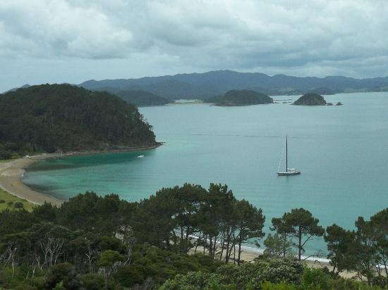 Explore - Bay of Islands: great view from the top of an island whose name I cannot remember