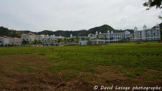 Hotel Riu Guanacaste: complexe vu de la plage
