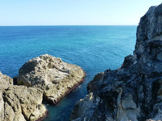 North Gorge Walk: Looking out from the Blowhole