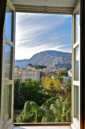 "Hotel Mediterraneo Sorrento: Although not an ocean view, our room view was very ""Italian"""