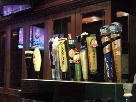 T Murphy's Sports Bar & Grill: Some of our choices