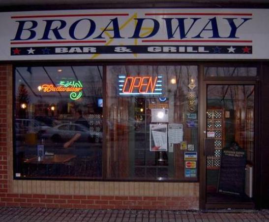 Broadway Bar Amp Grill Ottawa 3777 Strandherd Rd Menu