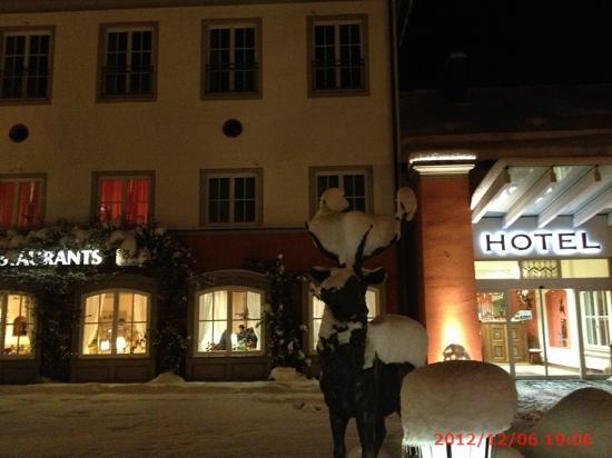Hotel Hirsch: 外観