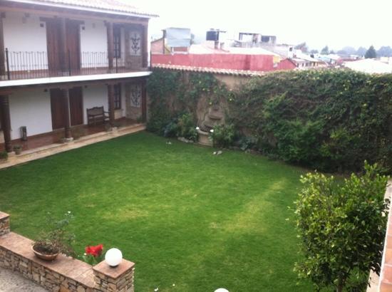 Hotel Parador Margarita: Jardin principal