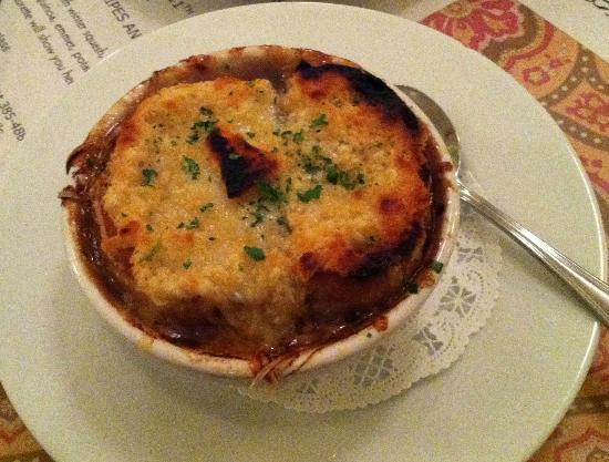 Sweet Laurette Cafe and Bistro: French Onion soup