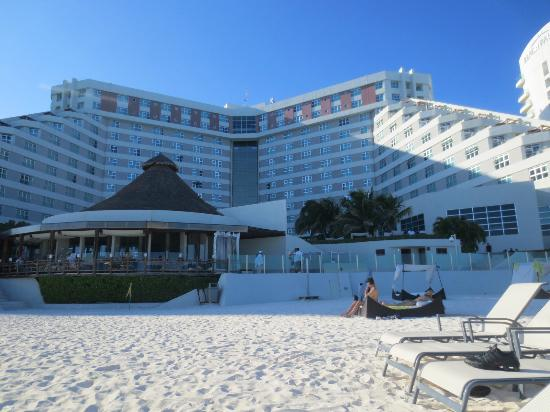 ME Cancun: hotel from beach