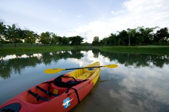 Mae Jo Golf Resort & Spa: Kayaking