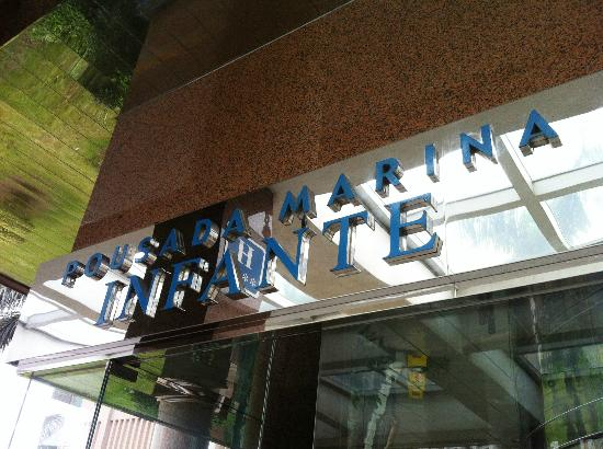 Pousada Marina Infante Hotel: hotel signage