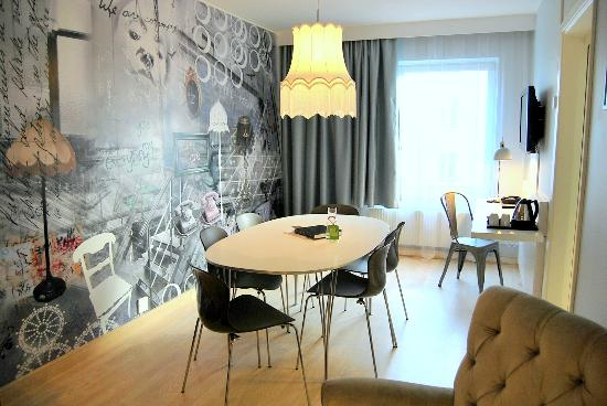 Scandic Malmen : Junior Suite Conference area