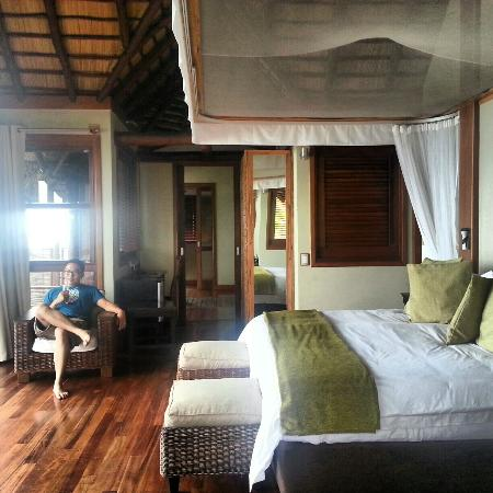 Massinga Beach Lodge: The fantastic room