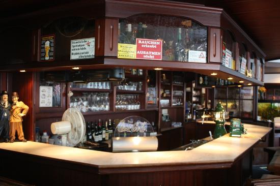 Hotel Zum Nordpol: Tresen