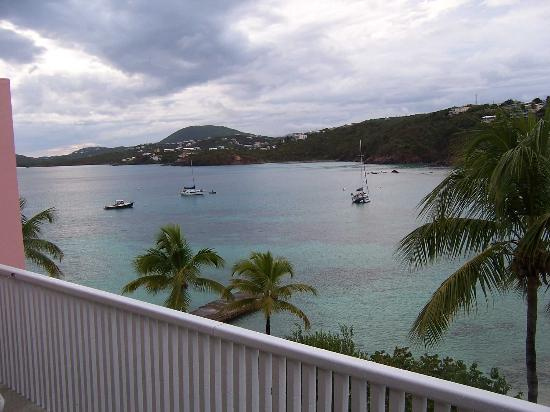 Secret Harbour Beach Resort: view from patio unit 431