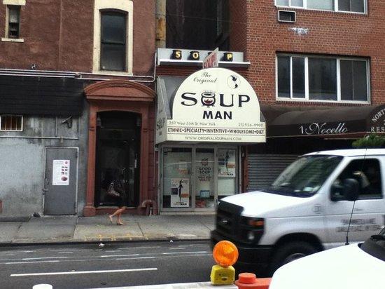 The Original SoupMan: outside