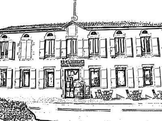 Hôtel du Commerce : La Façade