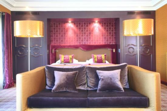 Hotel Edouard 7: Chambre