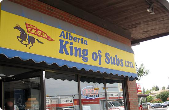 Alberta's King Of Subs
