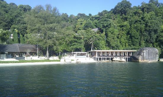 Pangkor Laut Resort: from the sea