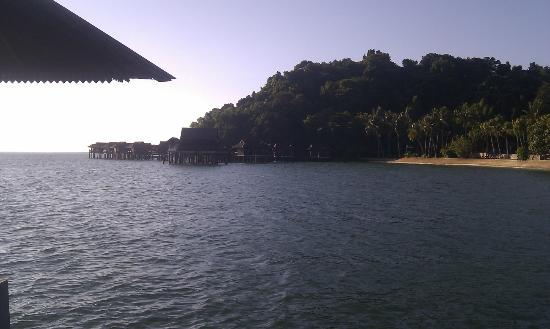 Pangkor Laut Resort: arrival