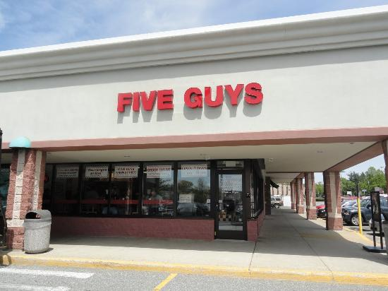 ajax guys 28 reviews of five guys i love this place they have the best burgers food: great food, fresh homemade burgers, 2 scoops of fries no matter the size, fries are cut fresh daily, small menu.