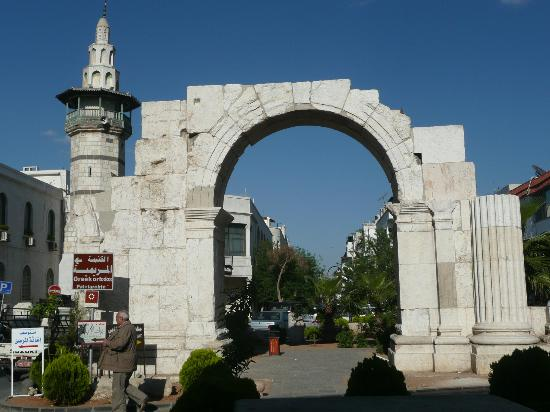 Old City: Roman Arch - Walled City