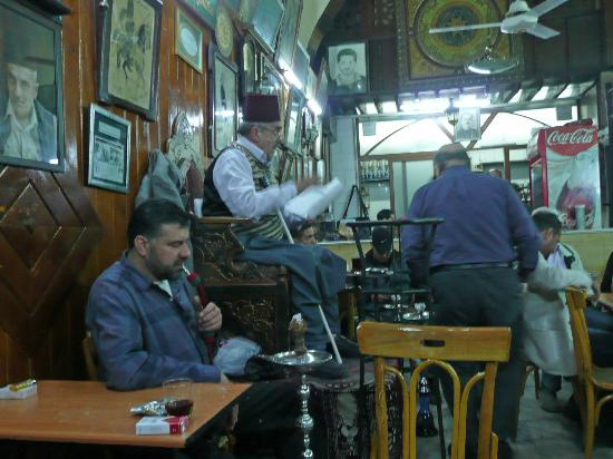 "Old City: ""The Reader"" - last remaining reader, Old Damascus"