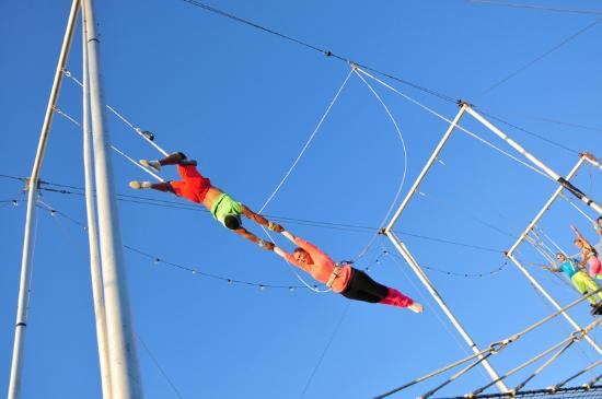 Trapeze School New York in San Juan PR