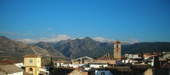 Dilar, إسبانيا: Sierra Nevada desde la habitacion