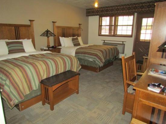 Zion Lodge: Notre chambre