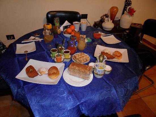 La Casa di El: Desayuno