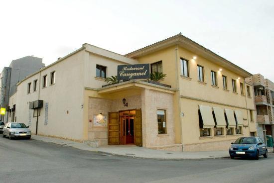Vista exerior Restaurante Canyamel, Inca, Mallorca