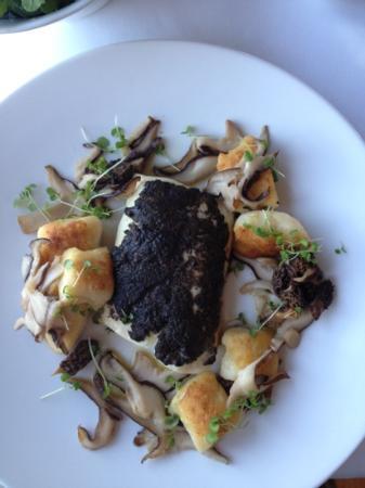 Piermont Retreat: truffle encrusted fish, divine