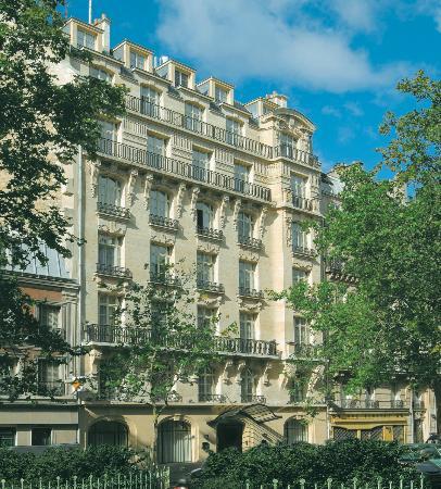 K+K Hotel Cayre, Paris, Facade