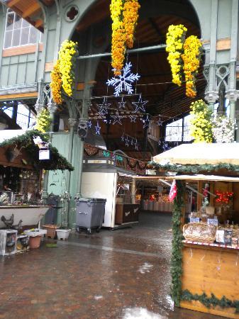 Mercato di Natale di Montreux (Montreux Noel) : Ingresso mercato interno