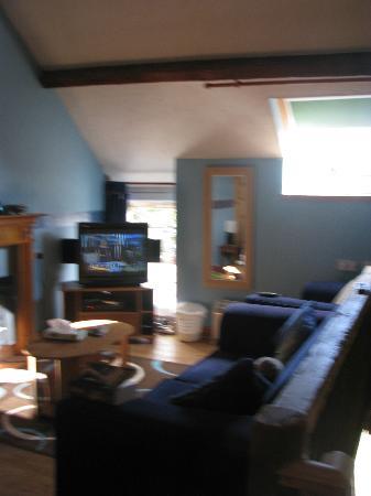 Afonwen Farm: Living Room
