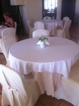 Bitzaro Grande Hotel: table à l'intérieur du restaurant