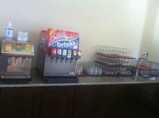 Bitzaro Grande Hotel: Distributeur de boisson