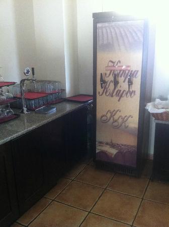 Bitzaro Grande Hotel: boisson (vin/ bière)