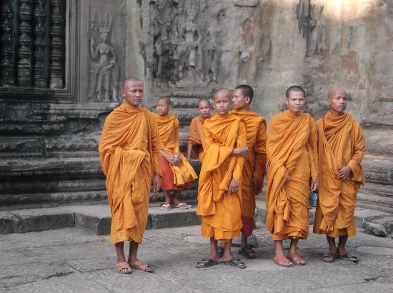 معبد أنغكور وات: 清らかな姿 