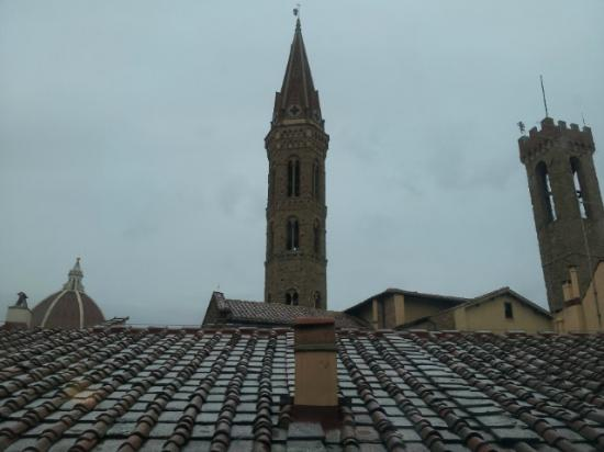 San Firenze Suites & Spa: View from Room 305