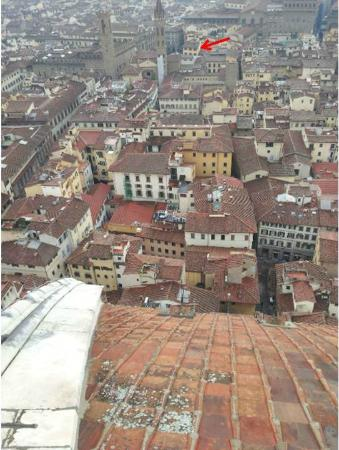 San Firenze Suites & Spa: Can you spot the San Firenze?