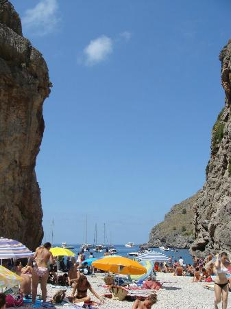 Sa Calobra : the beach