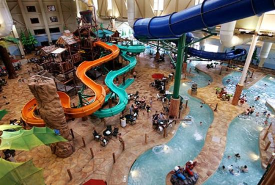 Great Wolf Lodge: Birds eye view #1