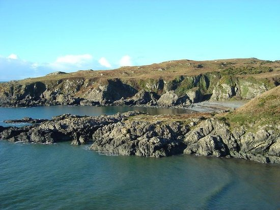 The Portpatrick Hotel : Just further up the coast