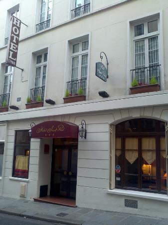Hotel Saint Paul Rive Gauche: Facciata hotel