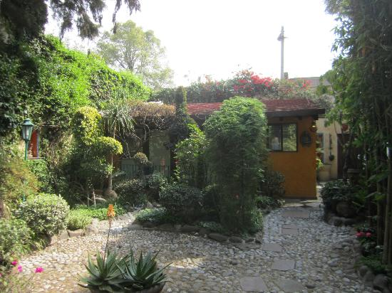 La Casita del Patio Verde: Garden and La Cabina, Casita del Patio Verde