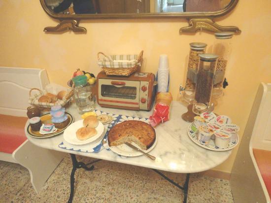 Casa di Pam: La colazione