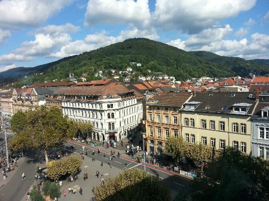 Hotel Goldene Rose: Heidelberg Bissmarkplatz